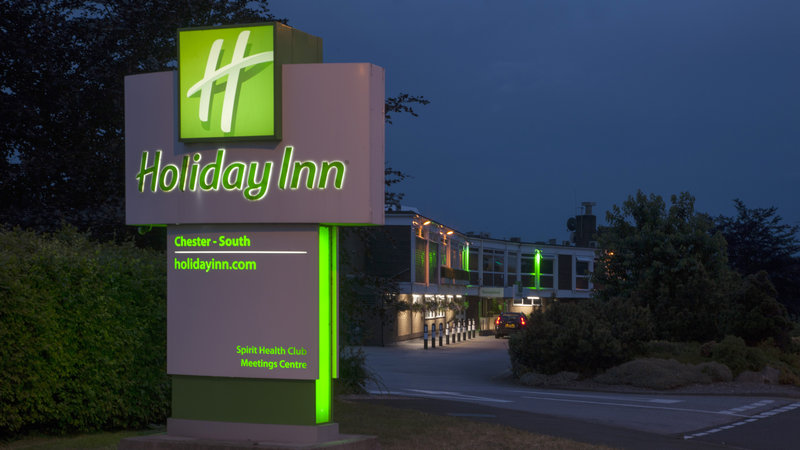 Holiday Inn Chester South Hotel-Entrance to the Hotel<br/>Image from Leonardo