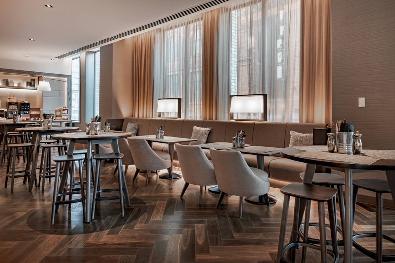 AC Hotel by Marriott Manchester City Centre-AC Lounge - Relax at Breakfast<br/>Image from Leonardo