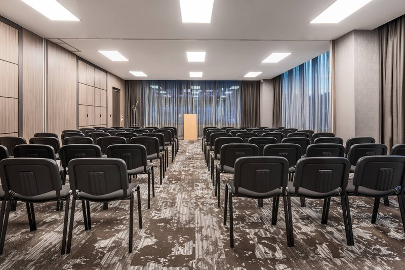 AC Hotel by Marriott Manchester City Centre-Awrkwright & Heywood - Classroom Setup<br/>Image from Leonardo