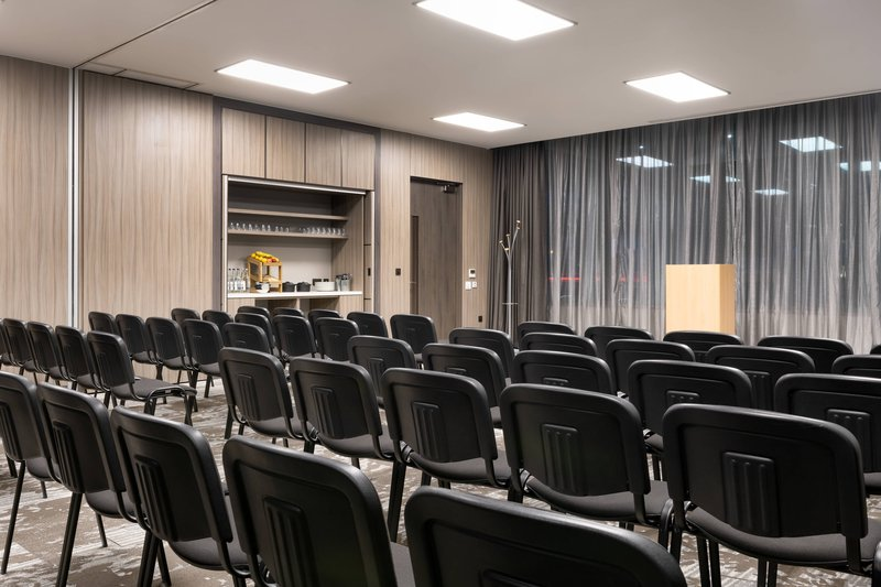 AC Hotel by Marriott Manchester City Centre-Arkwright & Heywood - Classroom Setup<br/>Image from Leonardo