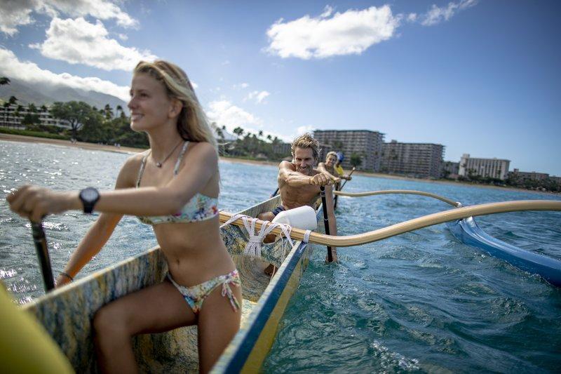 Kaanapali Beach Hotel  - CanoePaddle <br/>Image from Leonardo