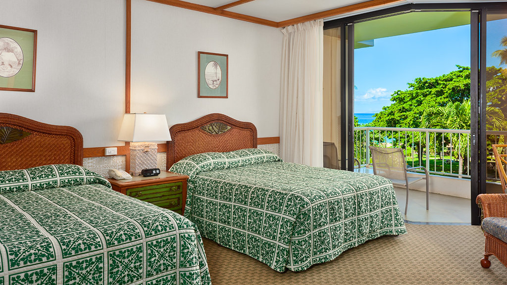 Kaanapali Beach Hotel  - Partial Ocean View <br/>Image from Leonardo