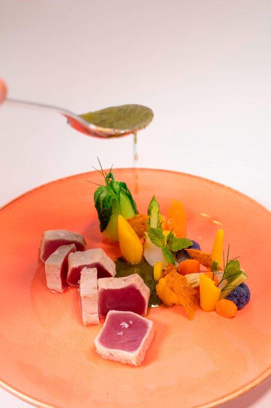 St Regis Resort Bora Bora - Aparima Bar - Lunch <br/>Image from Leonardo