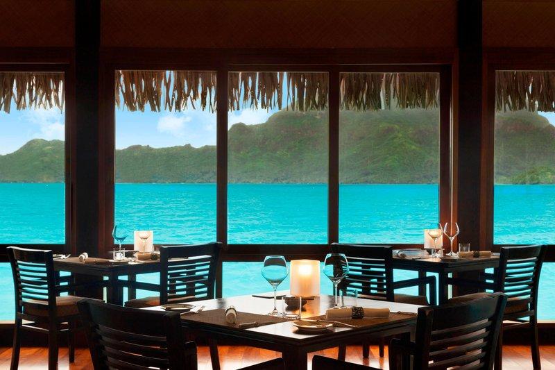 St Regis Resort Bora Bora - The Lagoon by Jean-Georges <br/>Image from Leonardo