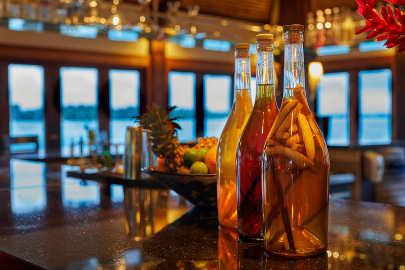 St Regis Resort Bora Bora - Lagoon Restaurant by Jean Georges - Bar <br/>Image from Leonardo
