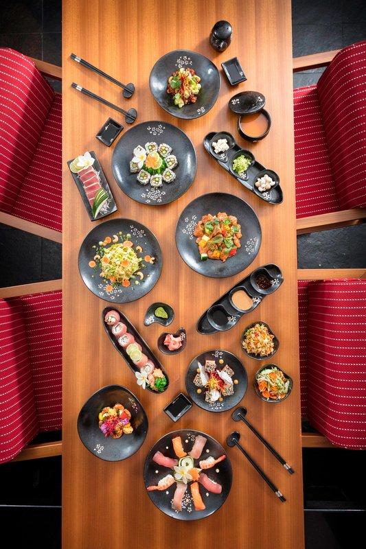 St Regis Resort Bora Bora - Bam Boo Restaurant - Dinner <br/>Image from Leonardo