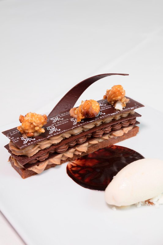 St Regis Resort Bora Bora - Te Pahu - Chocolate Hazelnuts Croustillant <br/>Image from Leonardo