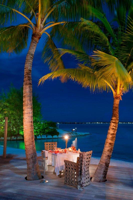St Regis Resort Bora Bora - Royal Estate - Dinner on Terrace <br/>Image from Leonardo