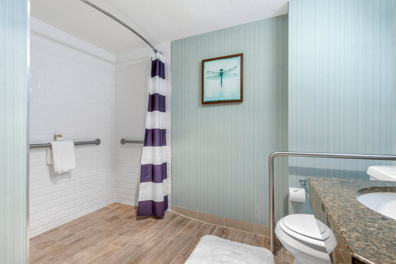 Omni Hilton Head Oceanfront Resort-Accessible Resort View Bathroom<br/>Image from Leonardo