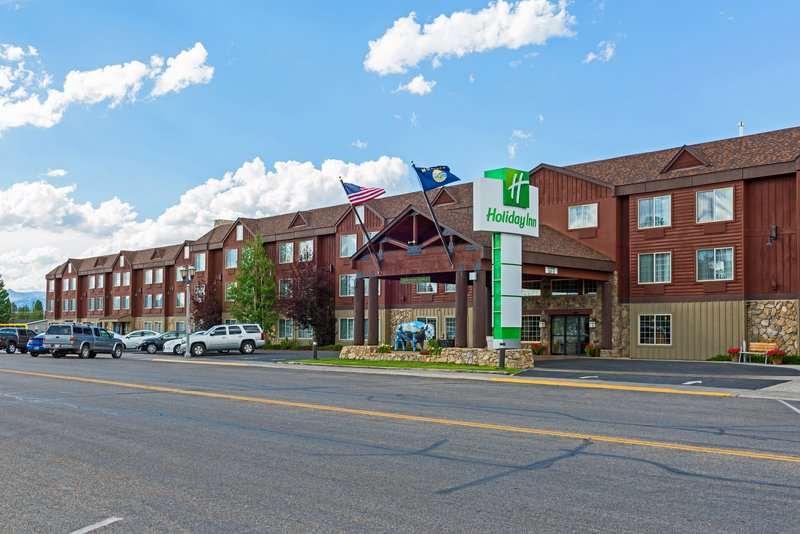 Holiday Inn West Yellowstone-The Holiday Inn in West Yellowstone, Montana<br/>Image from Leonardo