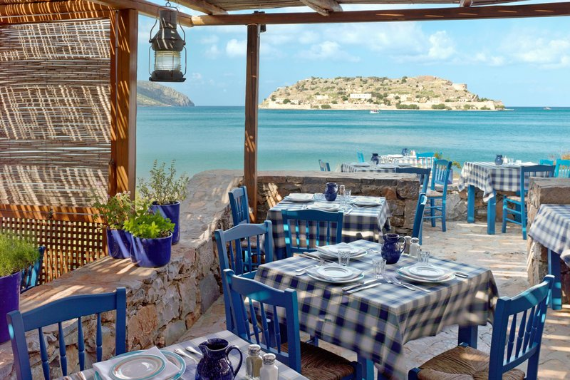 Blue Palace; a Luxury Collection Hotel-Blue Door Taverna<br/>Image from Leonardo