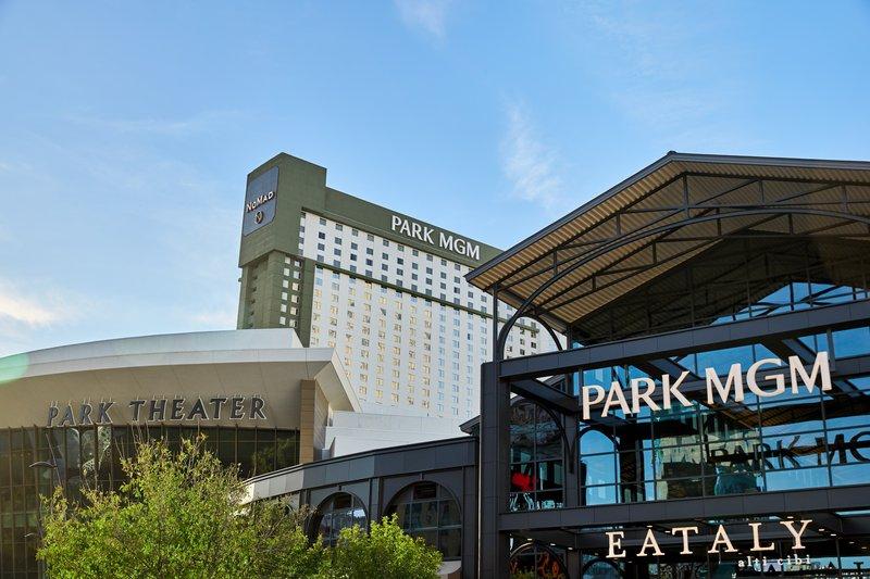 Park MGM Las Vegas - Park MGM NoMad Eataly Exterior <br/>Image from Leonardo