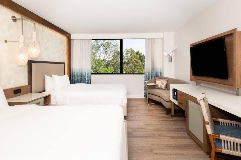 Renaissance Newport Beach Hotel-Double/Double Guest Room<br/>Image from Leonardo
