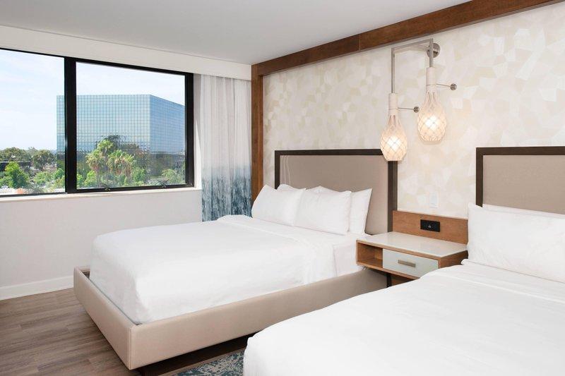 Renaissance Newport Beach Hotel-Double/Double Guest Room  - Orange County View<br/>Image from Leonardo