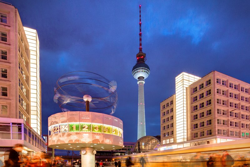 Hotel Indigo Berlin Centre Alexanderplatz-The famous Berlin TV Tower by night, a short walk from the hotel<br/>Image from Leonardo