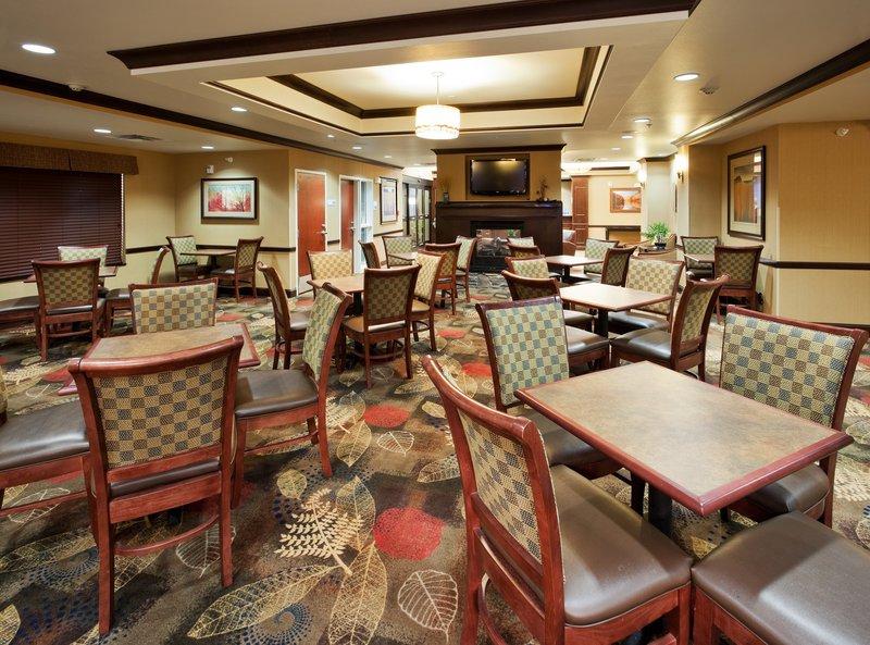Holiday Inn Express & Suites Great Falls-Breakfast Bar Serving a Hot Breakfast Every Morning <br/>Image from Leonardo