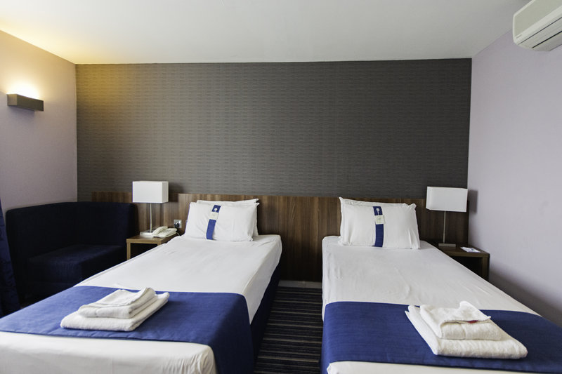 Holiday Inn Express Poole-Single Bed Guest Room<br/>Image from Leonardo
