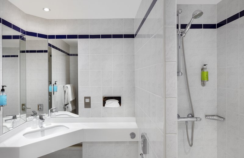 Holiday Inn Express Poole-Guest Bathroom<br/>Image from Leonardo
