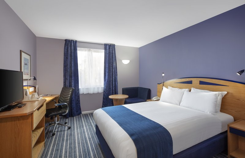 Holiday Inn Express Poole-Guest Room<br/>Image from Leonardo
