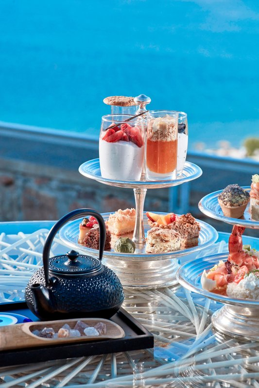 Blue Palace; a Luxury Collection Hotel-Afternoon Tea Time<br/>Image from Leonardo