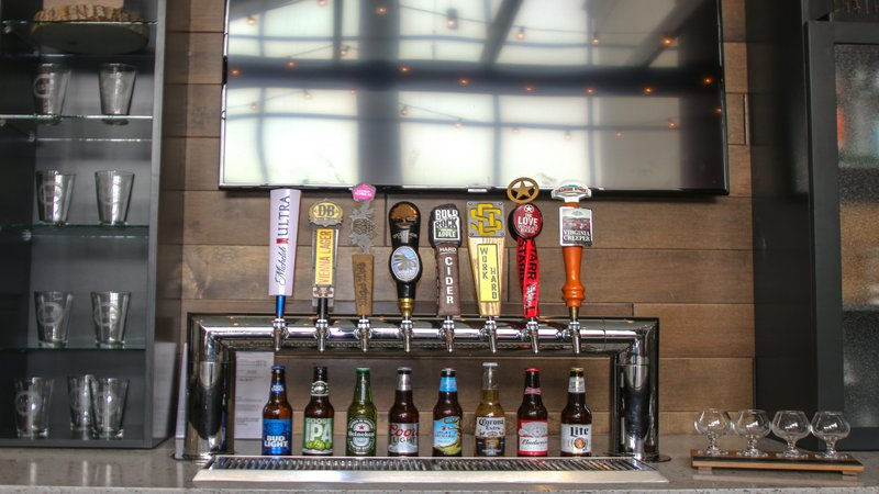 Holiday Inn Roanoke - Valley View-Our Beer taps including seven local beers<br/>Image from Leonardo