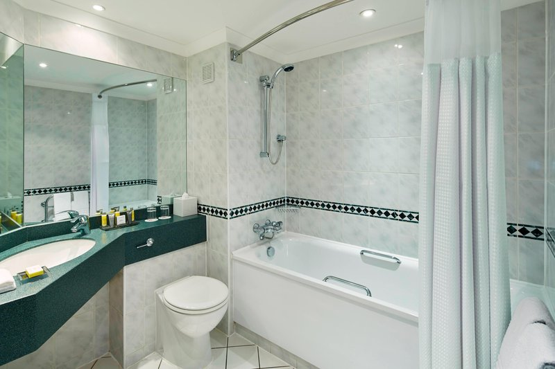 Marriott Cardiff Hotel-Guest Bathroom<br/>Image from Leonardo