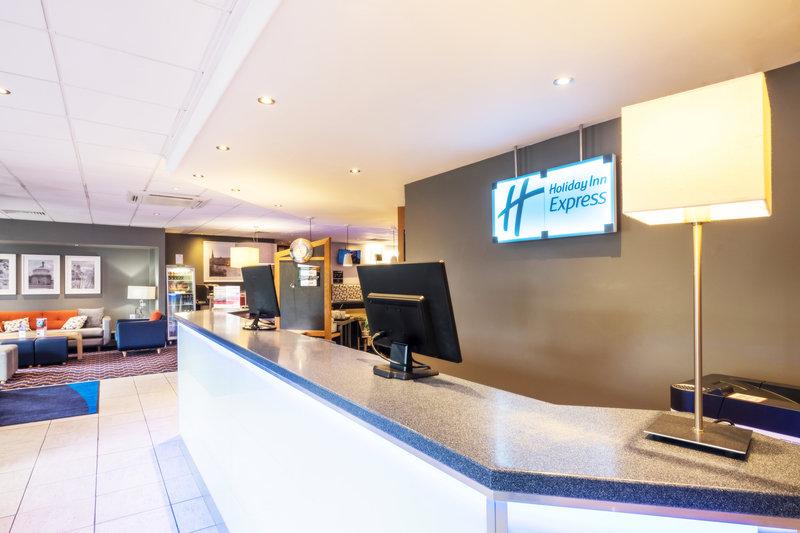 Holiday Inn Express Perth-Front Desk<br/>Image from Leonardo