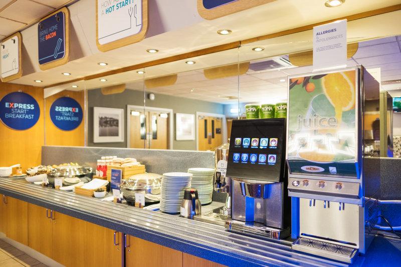 Holiday Inn Express Perth-Breakfast Buffet<br/>Image from Leonardo
