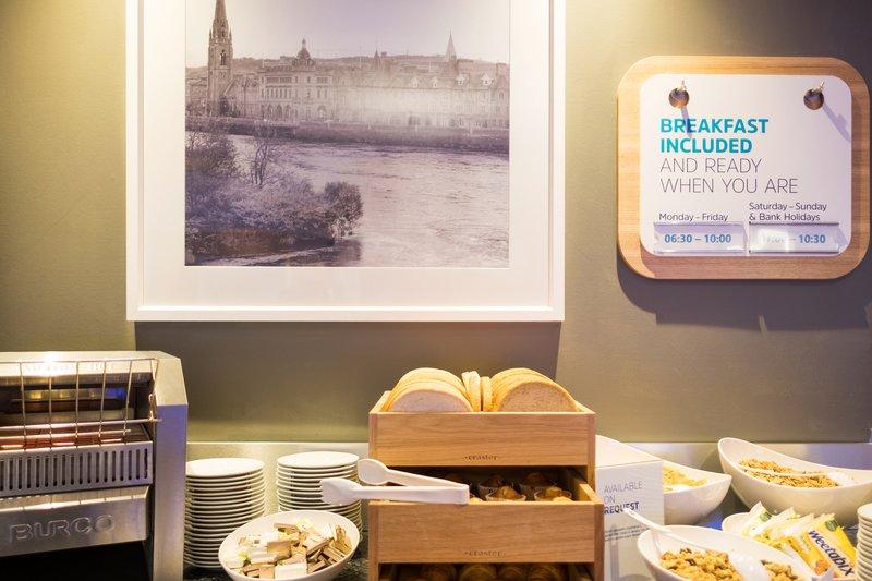 Holiday Inn Express Perth-Breakfast Bar<br/>Image from Leonardo