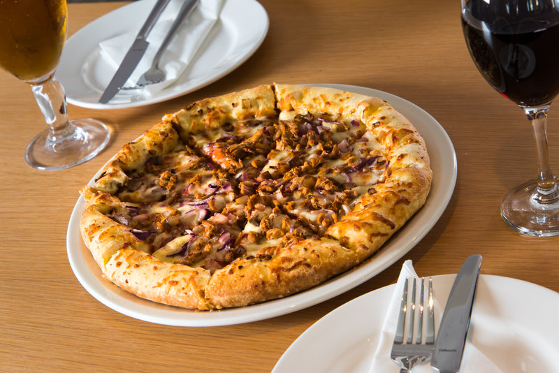 Holiday Inn Express Swansea - East-Why not try one of our tasty pizzas?<br/>Image from Leonardo