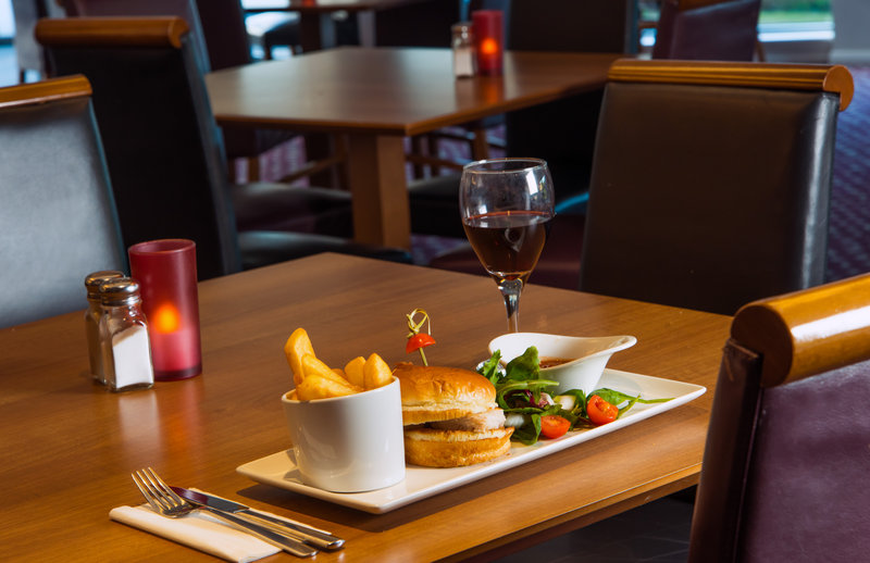 Holiday Inn Express Swansea - East-We serve a selection of delicious evening meals!<br/>Image from Leonardo