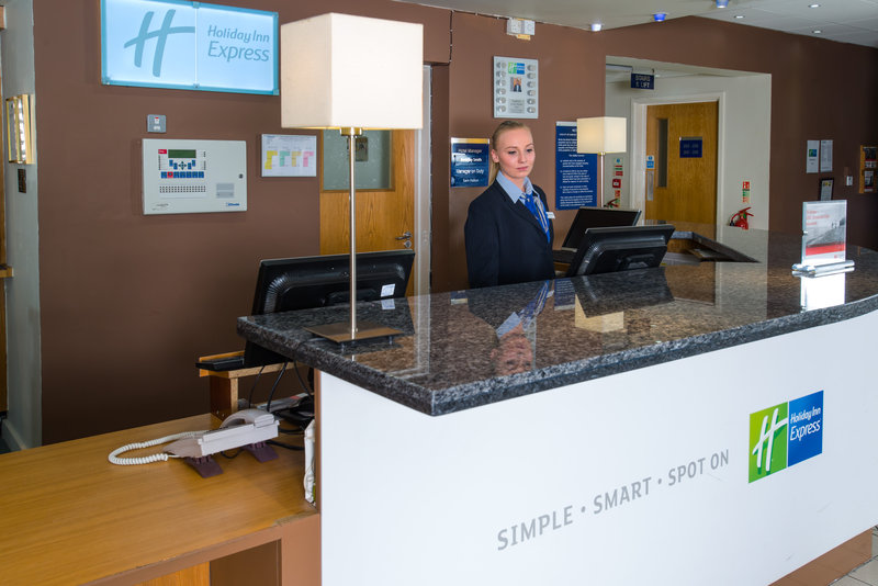 Holiday Inn Express Swansea - East-From check-in until check-out we are here for you<br/>Image from Leonardo