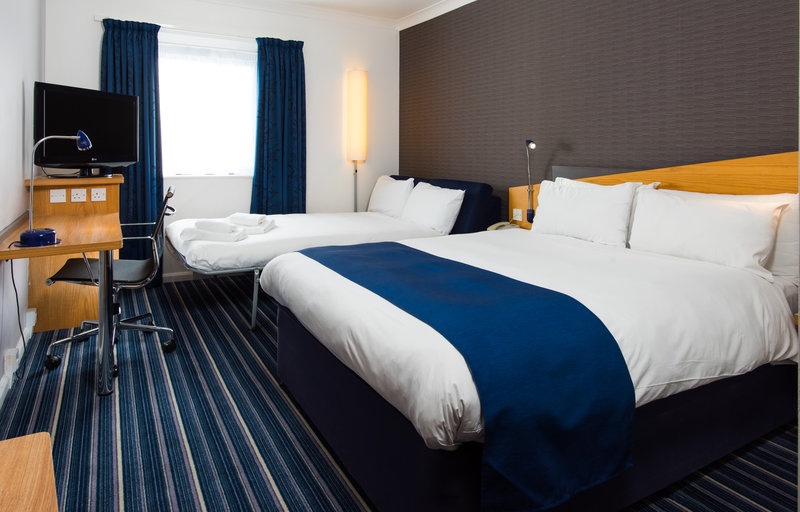 Holiday Inn Express Swansea - East-Cosy family rooms sleep up to 2 adults and 2 children comfortably<br/>Image from Leonardo