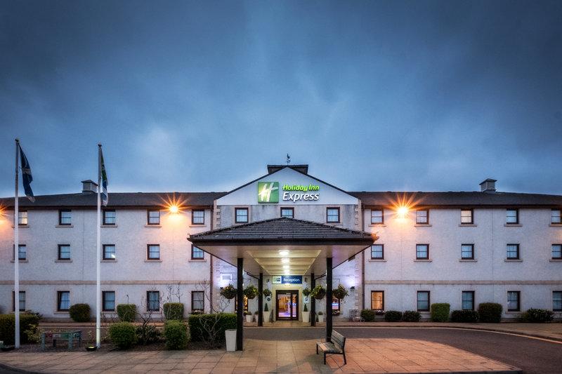 Holiday Inn Express Perth-Hotel Exterior Evening<br/>Image from Leonardo