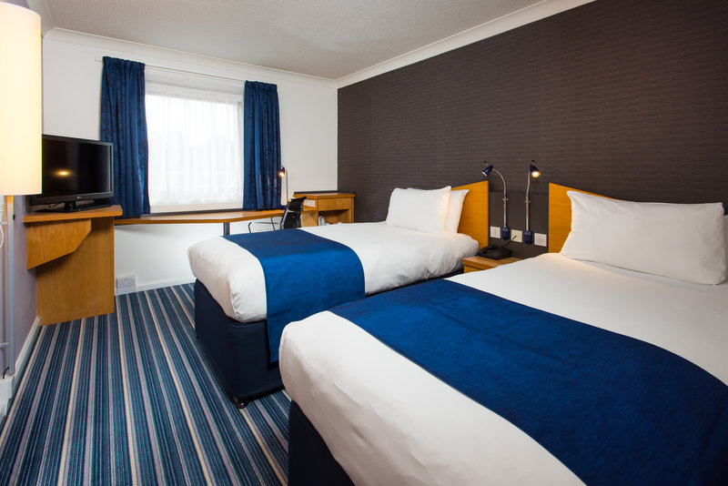 Holiday Inn Express Swansea - East-Our rooms are perfect for resting and recharging your batteries<br/>Image from Leonardo