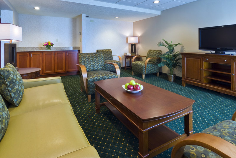 Holiday Inn Hotel & Suites Cincinnati-Eastgate (I-275e)-The Baker Hospitality Suite allows room to spread  out and relax.<br/>Image from Leonardo