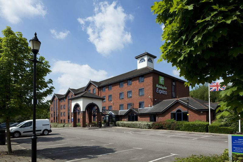 Holiday Inn Express Stafford M6 Jct 13-Our hotel is located just off Junction 13 of the M6<br/>Image from Leonardo