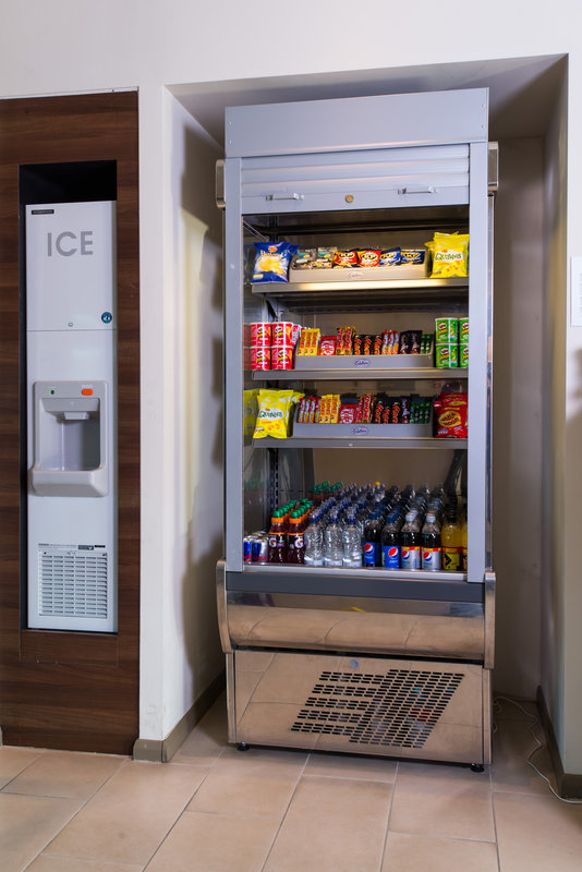 Holiday Inn Express Lincoln City Centre-Feeling peckish? Pick up a snack from our vending machine!<br/>Image from Leonardo