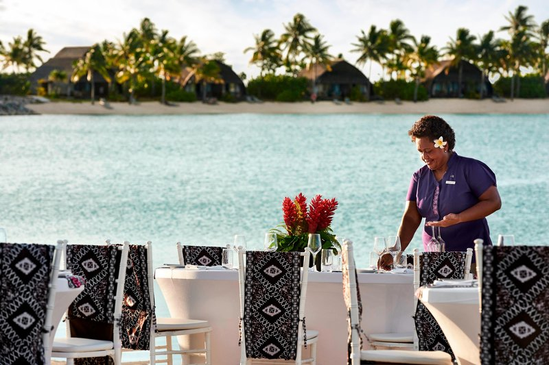 Fiji Marriott Resort Momi Bay-Vonu Beach - Banquet Setup<br/>Image from Leonardo