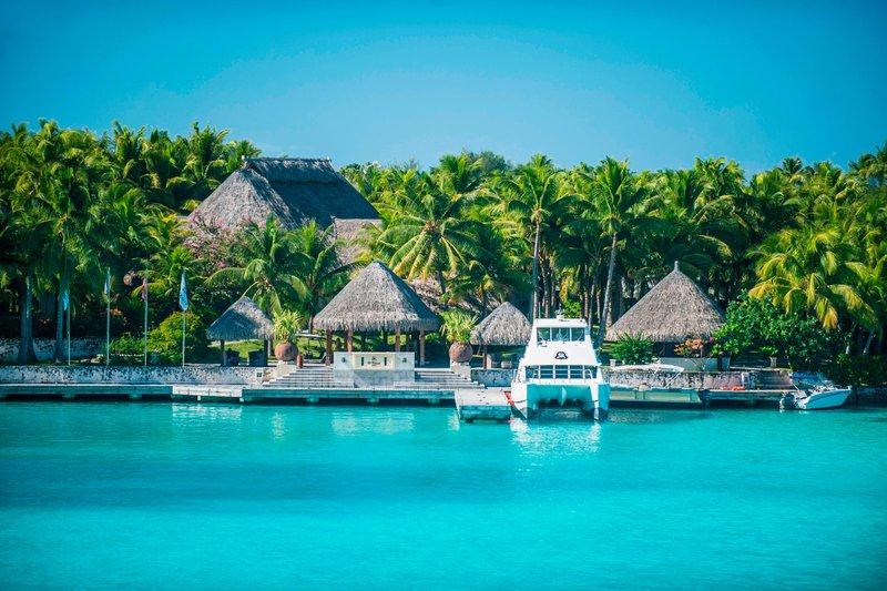 St Regis Resort Bora Bora - Arrival Area <br/>Image from Leonardo
