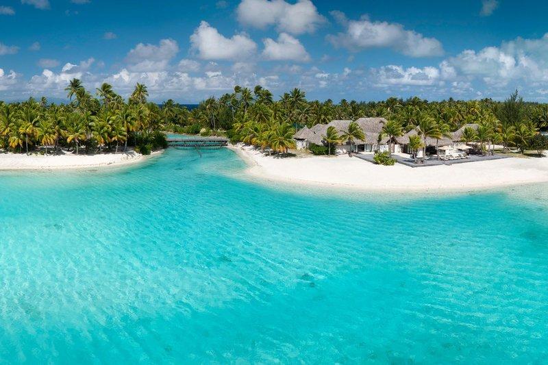 St Regis Resort Bora Bora - Exterior - Lagoon <br/>Image from Leonardo