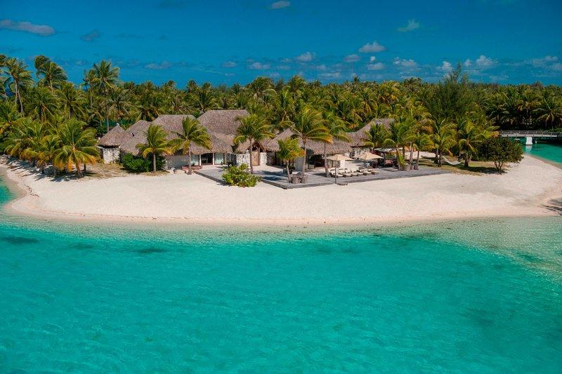 St Regis Resort Bora Bora - Royal Estate - Exterior <br/>Image from Leonardo