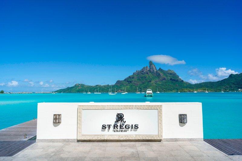 St Regis Resort Bora Bora - Main Dock <br/>Image from Leonardo