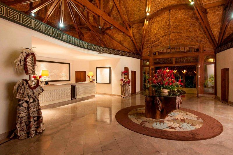 St Regis Resort Bora Bora - Lobby <br/>Image from Leonardo