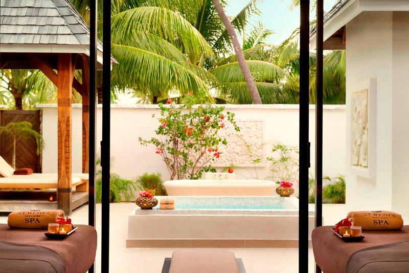 St Regis Resort Bora Bora - Iridium Spa - Private Pool <br/>Image from Leonardo