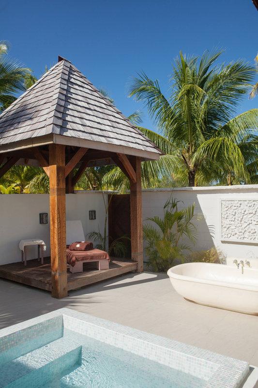St Regis Resort Bora Bora - Iridium Spa - Lounge Area <br/>Image from Leonardo
