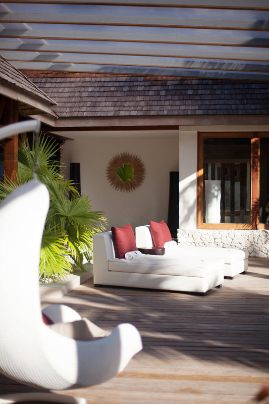 St Regis Resort Bora Bora - Iridium Spa - Sun Deck <br/>Image from Leonardo