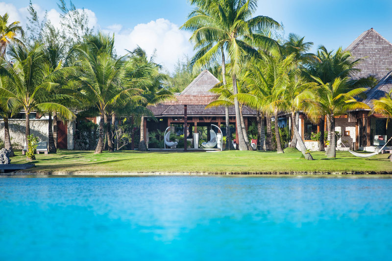 St Regis Resort Bora Bora - Iridium Spa - Front Lobby <br/>Image from Leonardo