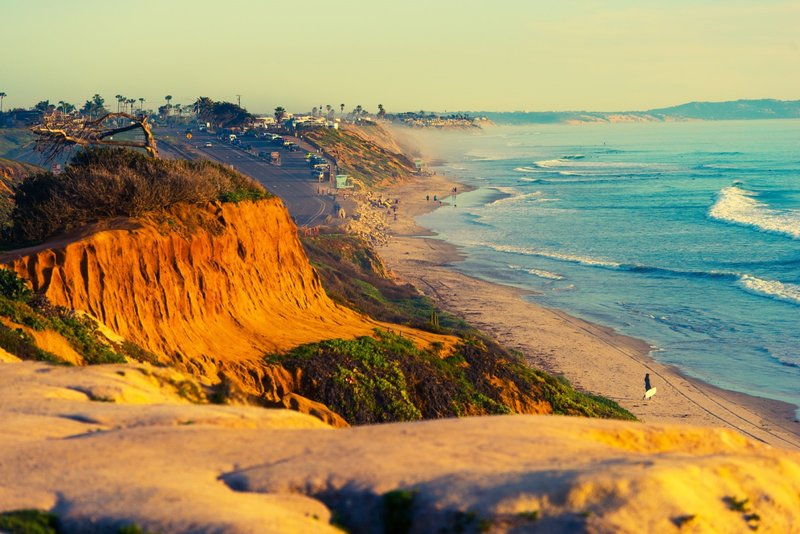 Holiday Inn Express & Suites Carlsbad Beach 4.4/5 | 506 Revi-Torrey Pines - Hiking, Sightseeing, Beach Walk, Sunsets, Trails<br/>Image from Leonardo