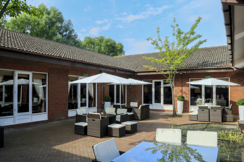 Holiday Inn Guildford-Guest Patio<br/>Image from Leonardo